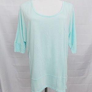 GAP Dolman Sleeve Hi Lo Hem Top T Shirt
